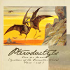 quillori: artwork of two pterodactyls fighting in the air (primeval: pterodactyls, pterodactyl)
