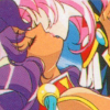 mikogalatea: Utena and Anthy from Revolutionary Girl Utena, kissing. (Utena/Anthy)