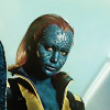 beatrice_otter: Mystique in X-Men gear from First Class (Mystique)