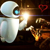 shirozora: WALL*E - love light