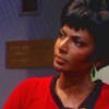 princessofgeeks: Nichols' Uhura against a black background (uhura by texaspirate)
