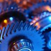 camshaft: (gears: Blue/orange gears)