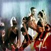 eleanorjane: Robbie Williams + cheerleaders (orgy)