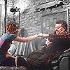 claudiometer: fistbump with Artie (terrorist fistbump)