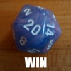 rivenwanderer: D20 showing a 20: WIN (win)