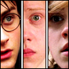 sidravitale: Harry Potter LJ icon by fire_bad (Harry Potter trio icons)