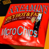a1enzo: Screamin's Spicy Hot & Fast MicroChips (micro fan not included) (63mg) (junk food)