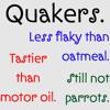 twistedchick: (quakers not parrots)