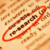 leftoverresearchquarterly: image of a book page with the word research circled in red (leftoverreasearchquarterly)