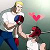 lucre_noin: Tony Stark and Steve Rogers (Marvel) (11)