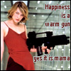 jmtorres: Resident evil. Milla in red dress with gun. Happiness is a warm gun, yes it is, mama (big gun)