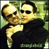jmtorres: Neo and Agent Smith from Matrix. Stranglehold (neo, smith, matrix)