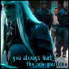 jmtorres: Atlantis: Steve the Wraith.  Text: you always hurt the one you love (stargate)