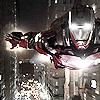 ymfaery: Iron Man flying through city (Avengers: Iron Man flying)