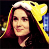 likeadeuce: Michelle Dockery in a tiger hat (downton)