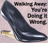 elf: Wrong shoes, wrong walking away (Walking Away)