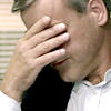 venusinthenight: greg lestrade facepalming (bbc sherlock - lestrade facepalms)