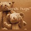 syderia: teddy bears sending hugs (hugs)