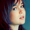 ninamazing: A blue-tinted gorgeous close-up of Ellen Page, who is always gorgeous so no surprise there. (beautiful every day)