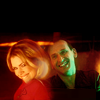 noblealice: ninth doctor and rose smiling (tv:dw:through time and space)