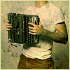 greenapple: sufjan plays the typewriter (writing)
