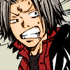 somanyfeelings: Gokudera lookin' ready to stab someone (BITCH I WILL CUT YOU)