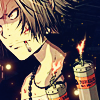 somanyfeelings: Gokudera with a cigarette and a bomb (We have explosives)