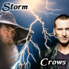 kerravonsen: Gandalf and the Ninth Doctor, with lightning: Storm Crows. (StormCrows)