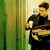 monksandbones: Stargate SG-1's Dr Daniel Jackson carrying a huge and precarious pile of books and a coffee, reenacting my life (it's my life)