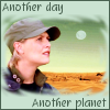 kerravonsen: Sam Carter, red desert, moon: Another day, Another planet (another-planet, Carter-another-planet)
