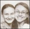 pegkerr: (Fiona and Delia 2012 black and white)