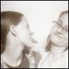 pegkerr: (Fiona and Delia 2012 black and white imp)