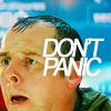 avendya: Scotty, captioned Don't Panic (Star Trek - Scotty)