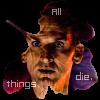 "kerravonsen: Ninth Doctor, silhuette of autumn leaf: ""All things die."" (all-things-die, Doc9-all-things-die)"