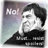 "kerravonsen: Second Doctor, face screwed up, hands over ears: ""No! Must... resist... spoilers!"" (resist-spoilers, Doc2-resist-spoilers)"
