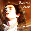 "kerravonsen: Eighth Doctor, relaxed, eyes closed: ""Breathe deep"" (Doc8-breathe, breathe-deep)"