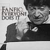 "kerravonsen: Second Doctor about to type in the Land of Fiction: ""Fanfic: everyone does it"" (fanfic, Doc2-fanfic)"