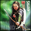 "kerravonsen: Susan aiming bow and arrows: ""Sharp Mind"" (Susan)"
