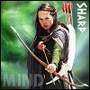 "kerravonsen: Susan aiming bow and arrows: ""Sharp Mind"" (sharp-mind)"