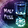 kerravonsen: glass half full of water: Half Full (Half Full)