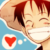 taichou: ([one piece: luffy] smile at the world)