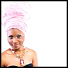 ext_22: Pretty girl with a gele on (White Teapot)