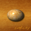 "kerravonsen: stone egg on wood: ""Simplicity"" (simplicity)"