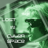 "kerravonsen: Sydney with VR glasses on: ""Lost in cyberspace"" (lost-in-cyberspace)"