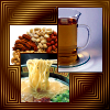 kerravonsen: tea, nuts and noodle soup (Food)