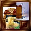 kerravonsen: tea, nuts and noodle soup (Food)