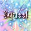 "kerravonsen: rainbow sparkles: ""Squee!"" (squee!)"