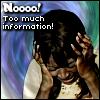 "kerravonsen: Elizabeth holding her hands over her ears: ""Nooo! Too much information!"" (Elizabeth, too-much-info)"