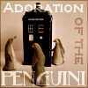 kerravonsen: Three penguins around the TARDIS: Adoration of the Penguini (tardis-penguins)