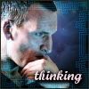 "kerravonsen: Ninth Doctor: ""thinking"" (thinking)"
